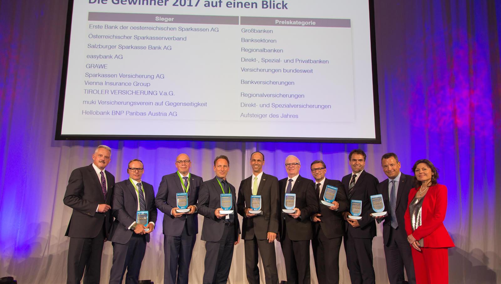 Recommender Award Sparkasse Verband österreich